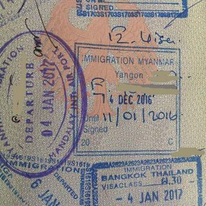 Myanmar Visum beantragen