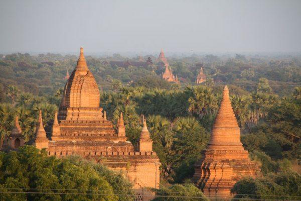 Wetter in Bagan - auch in der Trockenzeit kann es morgens sehr kalt sein!