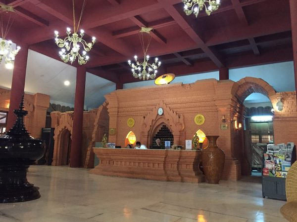 Bagan Hotel River View - ein teures und edles Hotel in Bagan.