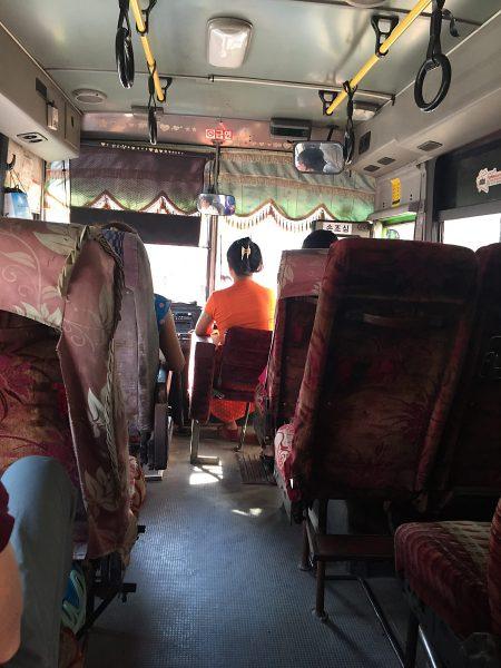 Busfahren in Rangon
