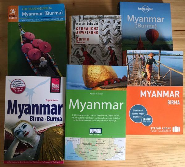 Reiseführer für Myanmar - welcher ist der Beste?