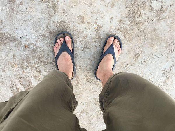 Flip Flops und kurze Hosen? Nicht immer erlaubt in Burma!