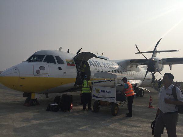 Flugzeug von Air KBZ