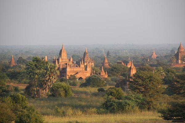 Die Tempel von Bagan.