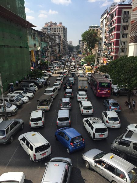 Rush-Hour on Yangon