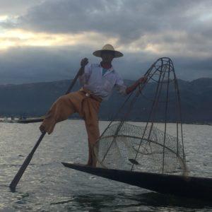 Inle See (Inle Lake) in Myanmar
