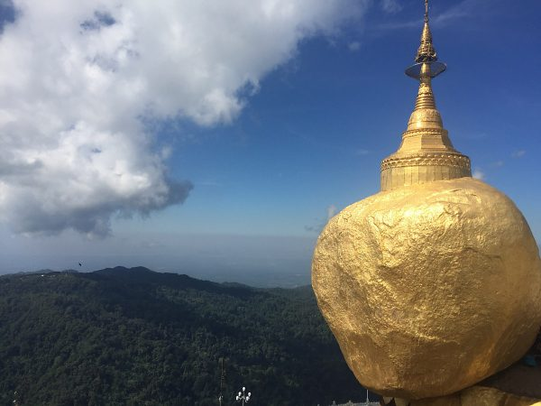 Golden Rock in Myanmar - Die Pilgerstätte Nummer 1 in Burma.