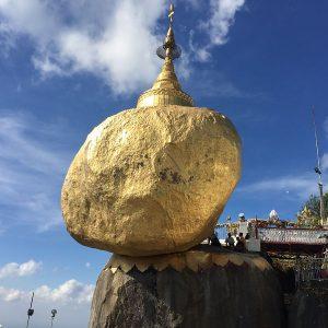 Golden Rock & Mount Kyaiktiyo in Myanmar