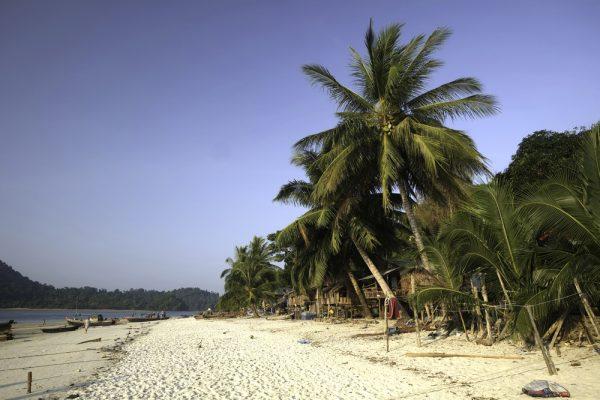 Strand auf dem Myeik Archipel