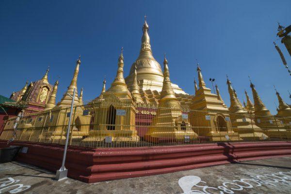 Shwesandaw pagoda in Twante