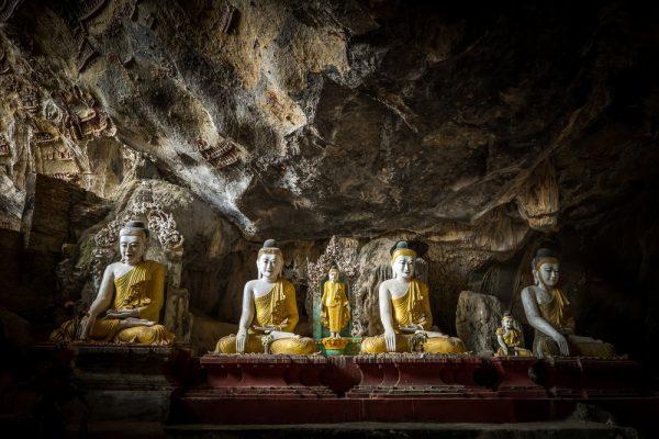 in der Kaw Goon Höhle
