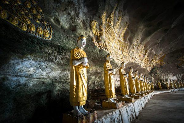 In der Sadan Sin Min cave!