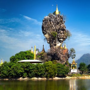 Hpa-An in Myanmar: Höhlen, Klöster, Berge & Pagoden