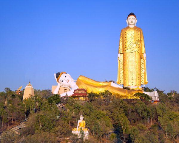 Lay Kyun Sat Kyar – der zweithöchste Buddha der Welt (Shutterstock.com)