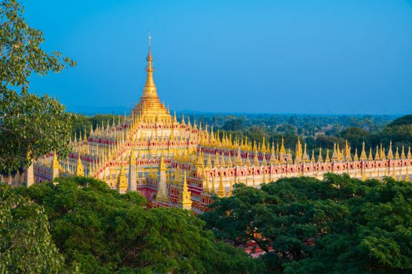 Thanbodday Pagode in Monywa, Myanmar (Shutterstock.com)