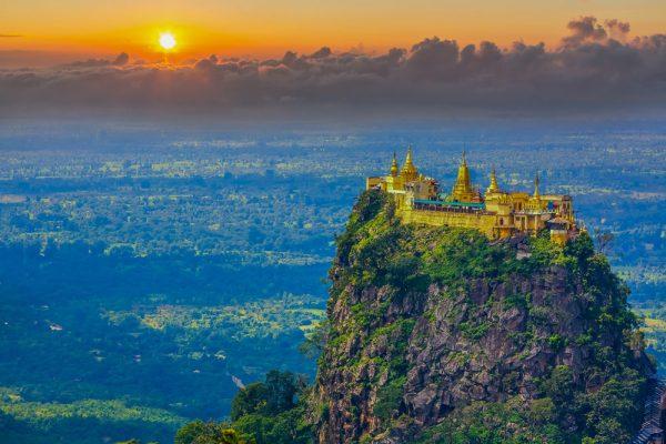 Mount Popa – die mystische Heimat der Myanmar-Geister