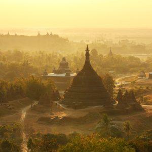 Mrauk U in Sittwe - Tempel, Ruinen & Pagoden
