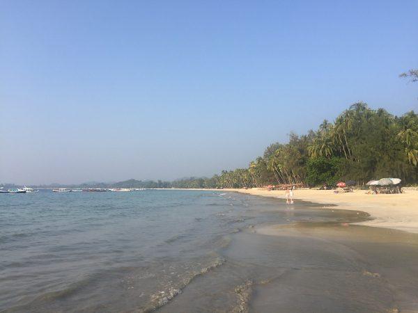 Der Ngapapali Beach - der schönste Strand von Myanmar?
