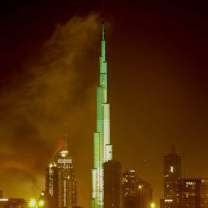 Der Burj-Khalifa - Wolkenkratzer in dubai (Foto Shutterstock)