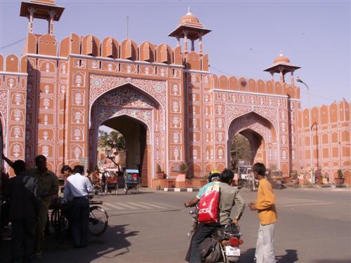 Jaipur in Indien (Copyright http://www.rajastan.de/jaipur/ )
