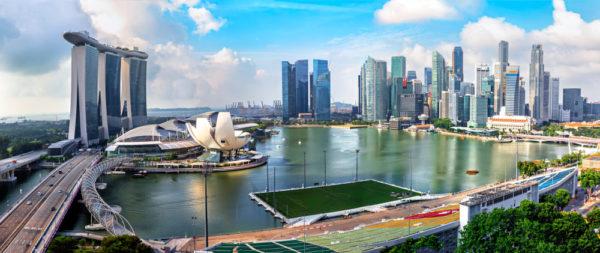 Mariana Bay Sands SkyPark im Stadtstaat Singapur (Foto Shutterstock)