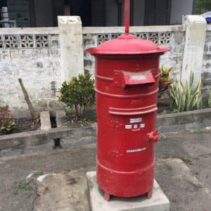 Postkarte & Pakete aus Myanmar / Burma