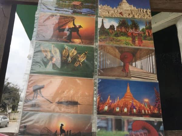 postkarten aus Myanmar