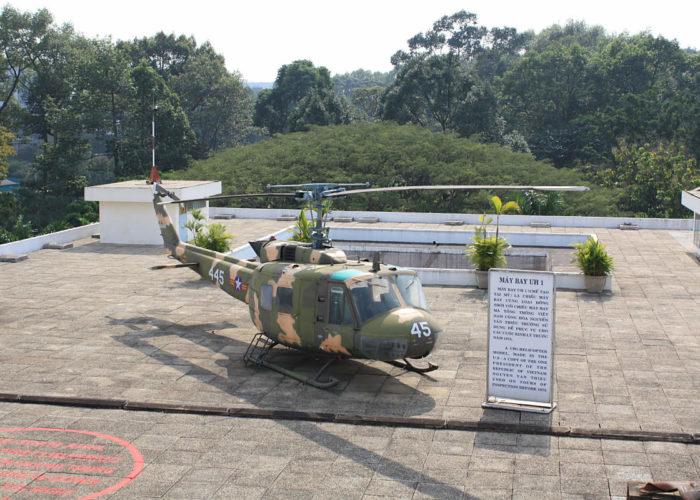 Der Vietnamkrieg- Mahnmahle und Museum in Saigon.