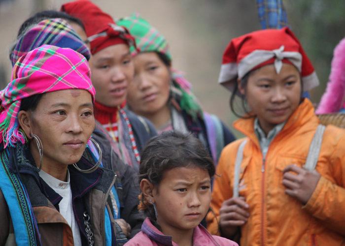 Freundliche Menschen: Die Vietnamesen.