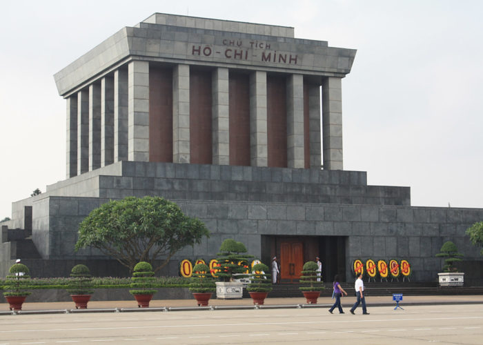 Das Mausoleum in Ho Chi Minh City