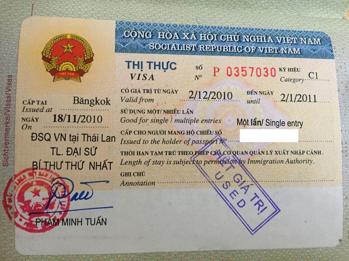 Botschaft Vietnam - Corona Virus & Einreise Vietnam