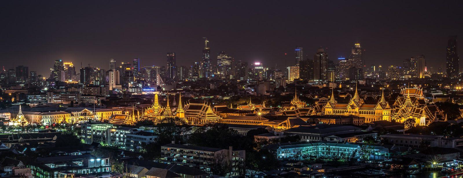 Bangkok - pulsierende Metropole in Thailand.