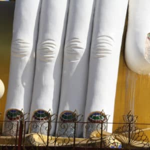 Die 4 Buddhas von Kyaikpun in Bago.