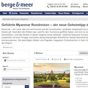 Berge & Meer Reisen