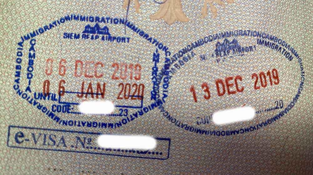 E-Visum für Kambodscha