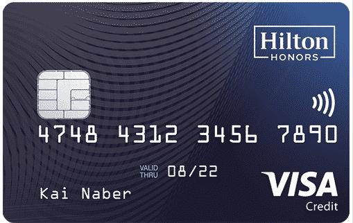 Hilton Honor Kreditkarte