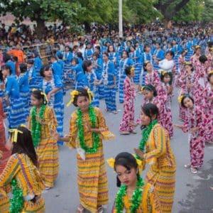 Thingyan in Myanmar - das Wasserfest & Neujahr 2020, 2021 & 2022