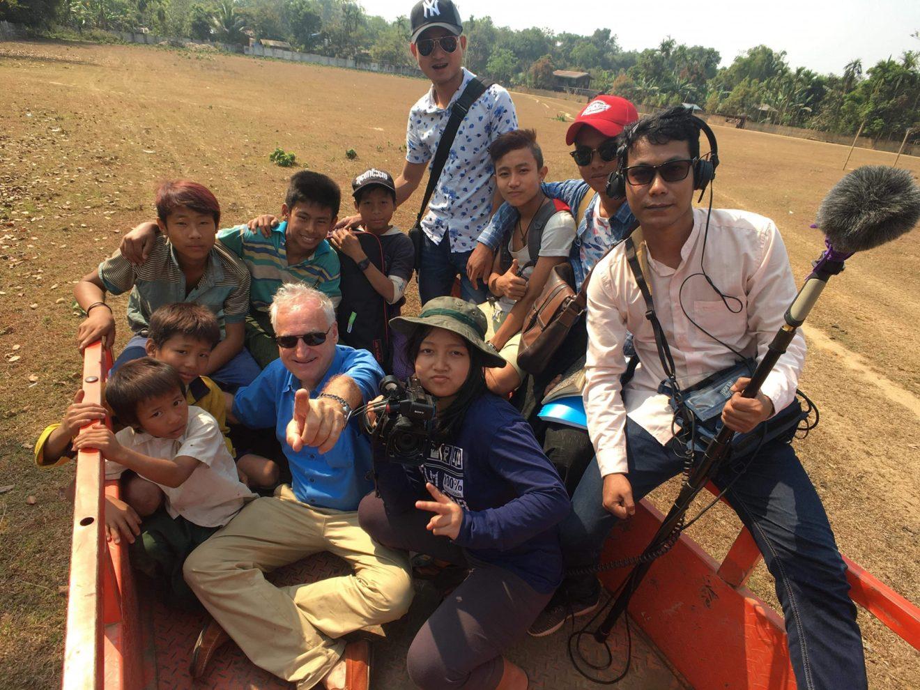 B.B. UND... Team im Nagaland
