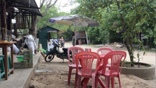 Lieblingsarbeitsplatz Cafe in Bagan