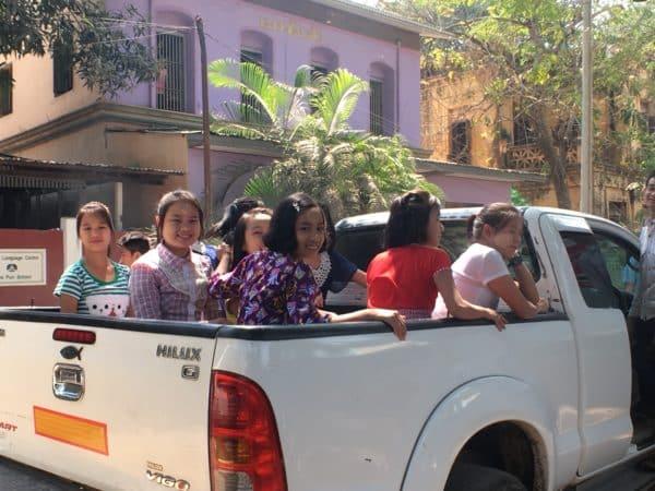 Leben in Yangon